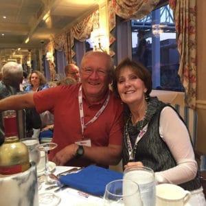 Judy Zanotti and Dave Davis